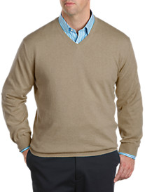 Peter Millar® Cotton/Cashmere V-Neck Sweater
