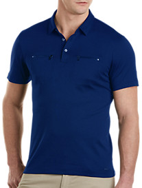 Michael Kors® Zippered-Pocket Polo