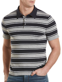 Michael Kors® Stripe Polo-Style Sweater
