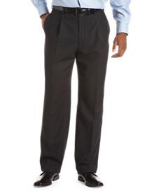 Tommy Hilfiger® Pleated Wool Gabardine Trousers (Hemmed)
