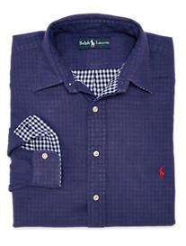 Polo Ralph Lauren® Double-Face Cotton Sport Shirt