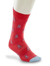 Psycho Bunny® Tossed Bunny Socks