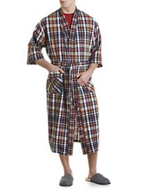 Majestic International® Montego Bay Textured Plaid Robe