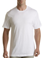 Tommy Hilfiger® White Crewneck Tees – 4 Pk
