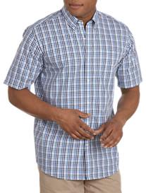 Cutter & Buck® Cameron Road Plaid Sport Shirt
