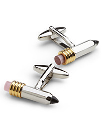 Link Up Pencil Cuff Links