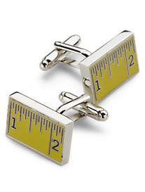 Link Up Measuring Tape Cuff Links