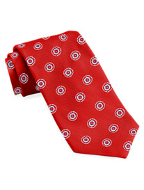 Brooks Brothers® Circle Medallion Silk Tie