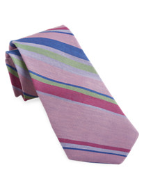 Robert Graham® Multi Stripe Silk Tie