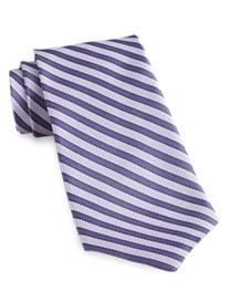 Rochester Made in Italy Stripe Silk Tie