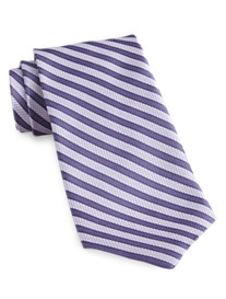 Rochester Made in Italy Stripe Silk Tie