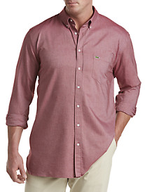 Lacoste® Solid Oxford Sport Shirt