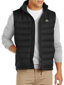 Lacoste® Lightweight Ripstop Puffer Vest