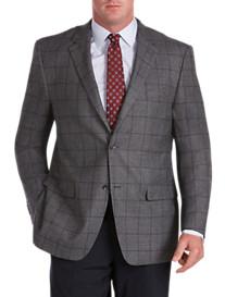 Rochester Windowpane Check Wool Sport Coat