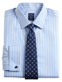 Brooks Brothers® Non-Iron Stripe French-Cuff Dress Shirt