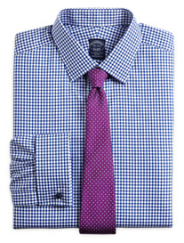 Brooks Brothers® Non-Iron Gingham French-Cuff Dress Shirt