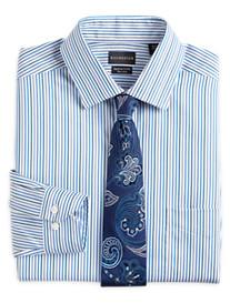 Rochester Non-Iron Stripe Dress Shirt
