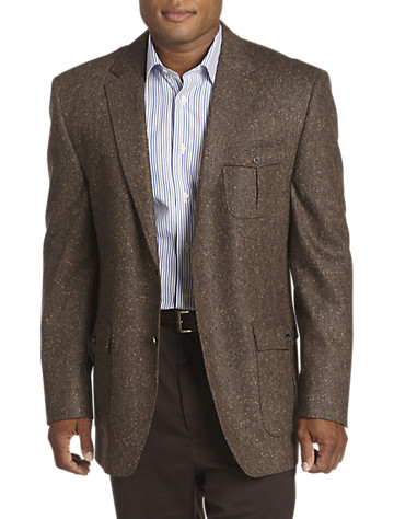 Rochester Donegal Tweed Wool Sport Coat