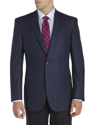 Jack Victor Donegal Tweed Herringbone Sport Coat