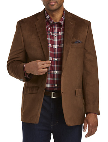 Suede Sport Coats from Destination XL