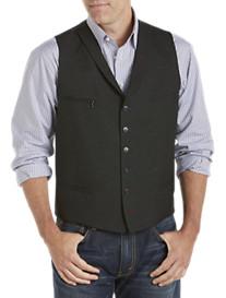 Tallia Orange Shawl-Collar Vest