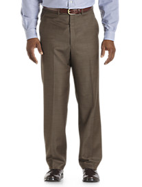 Ballin® Comfort EZE Stepweave Flat-Front Dress Pants
