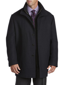 Cardinal of Canada Luxury Collection Plaid Stand-Collar Coat
