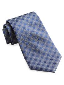 Rochester Square Geo Silk Tie