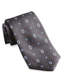 Rochester Paisley Dot Silk Tie