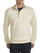 Tommy Hilfiger® Porter Button Mockneck Pullover