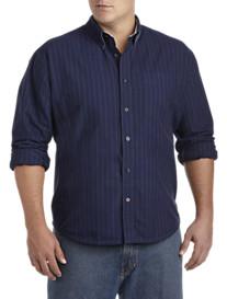Tommy Hilfiger® Benjamin Stripe Oxford Sport Shirt