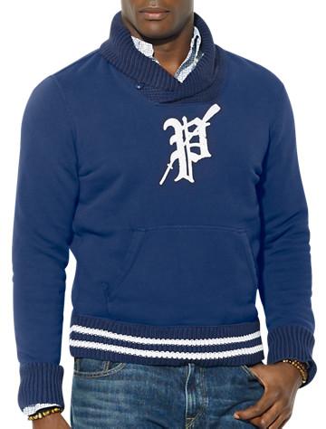 Polo Ralph Lauren® Varsity Shawl-Collar Fleece Pullover | Tees