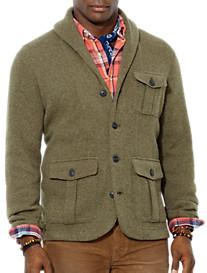Polo Ralph Lauren® Wool-Blend Shawl-Collar Cardigan