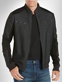 Calvin Klein Jeans® Nylon-Trim Moto Jacket