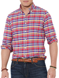 Polo Ralph Lauren® Fancy Plaid Oxford Sport Shirt