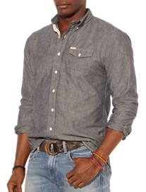 Polo Ralph Lauren® Chambray Bleecker Sport Shirt