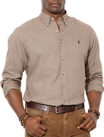 Polo Ralph Lauren® Micro Houndstooth Twill Sport Shirt