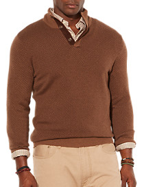 Polo Ralph Lauren® Loryelle Herringbone Mockneck Sweater