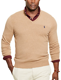 Polo Ralph Lauren® Loryelle Merino Wool V-Neck Sweater