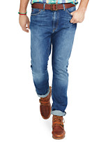 Polo Ralph Lauren® Hampton Straight-Fit Cedar Wash Denim Jeans