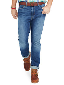 Polo Ralph Lauren® Hampton Straight-Fit Cedar Wash Denim Jeans