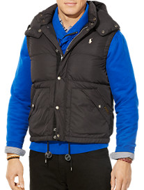 Polo Ralph Lauren® Elmwood Down Vest with Detachable Hood