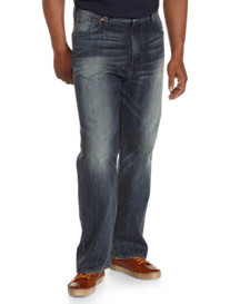 Lucky Brand® Blue Gold Dark Wash Jeans – Relaxed Straight 181 Fit
