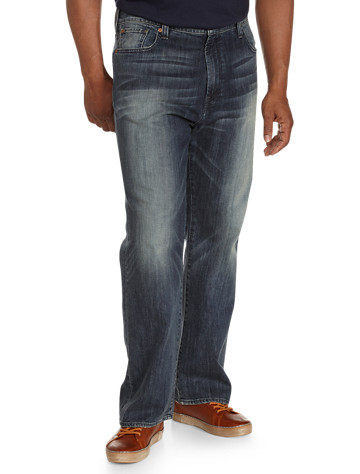 Lucky Brand® Blue Gold Dark Wash Jeans – 181 Relaxed Straight Fit