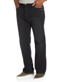 Lucky Brand® Obsidian Black Wash Jeans – Relaxed Straight 181 Fit