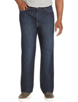Lucky Brand® Murrell Dark Wash Jeans – 181 Relaxed Straight Fit