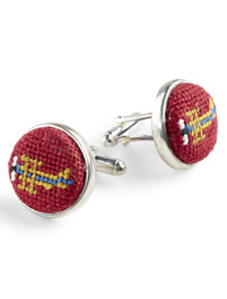 Brooks Brothers® Needlepoint Cuff Links