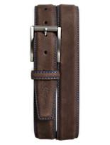 Robert Graham® Laurel Nubuck Leather Belt