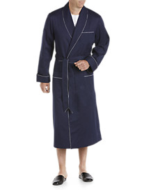 Derek Rose™ Satin Stripe Shawl-Collar Robe