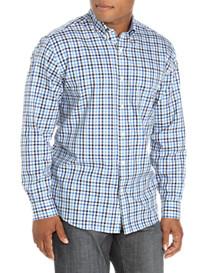 Cutter & Buck® Sheldon Twill Gingham Sport Shirt